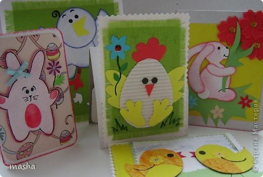 Мои образцы открыточек, которые предложу ребятам сделать в кружке. фото 1
