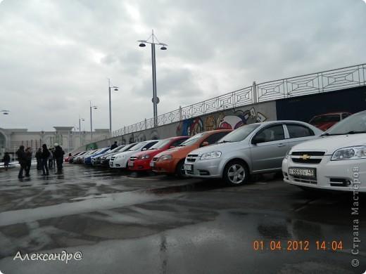 1 апреля состоялась встреча водителей Chtvrolet Aveo.По дороге мы встретились еще с 2 парнями. фото 3