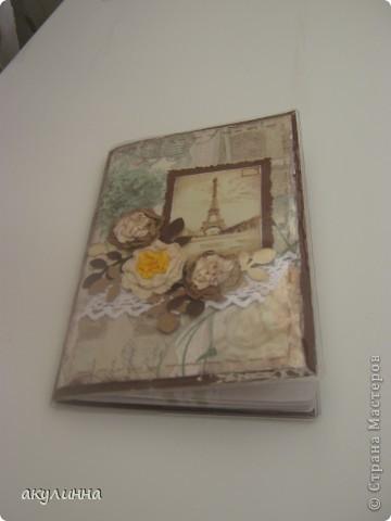 Обложка для паспорта по мотивам коробочки фото 2