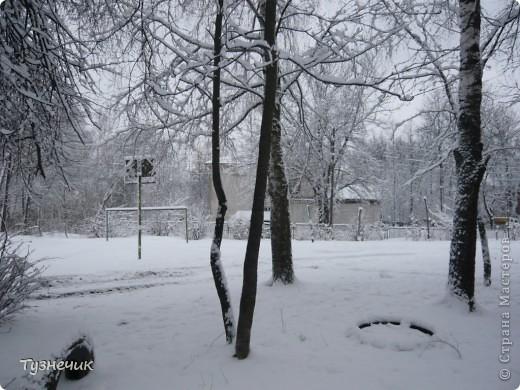 Вот такое у нас выдалось утро 5 апреля 2012 года фото 1