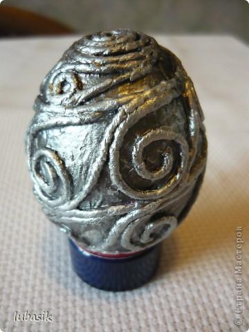 Спасибо Танечке Сорокиной за технику пейп - арт http://stranamasterov.ru/node/308701 . Сегодня я к вам с пейп - яйцами. Пасха не за горами. Решила сделать такие сувенирчики. фото 4