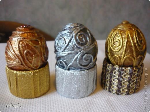 Спасибо Танечке Сорокиной за технику пейп - арт http://stranamasterov.ru/node/308701 . Сегодня я к вам с пейп - яйцами. Пасха не за горами. Решила сделать такие сувенирчики. фото 11