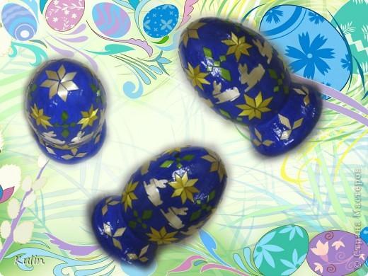 яйцо пасхальное Кролики фото 1