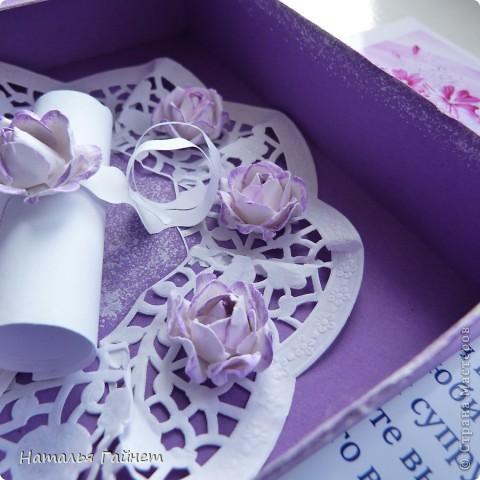Первая свадебная коробочка для денег. Размер 16*16*3 см Делала экстренно за два вечера.Поэтому выбрала простую конструкцию. фото 4