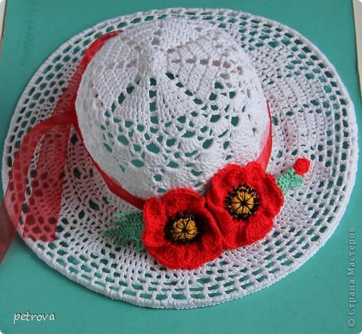 Вязанные шляпки для девочек