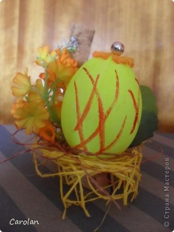 Пасхальное яйцо. Расписано акриловыми красками