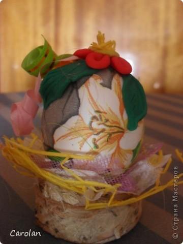 Пасхальное яйцо. Расписано акриловыми красками фото 3
