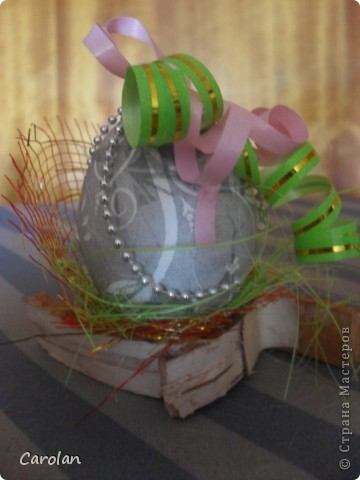 Пасхальное яйцо. Расписано акриловыми красками фото 5