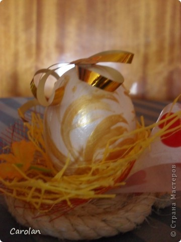 Пасхальное яйцо. Расписано акриловыми красками фото 6