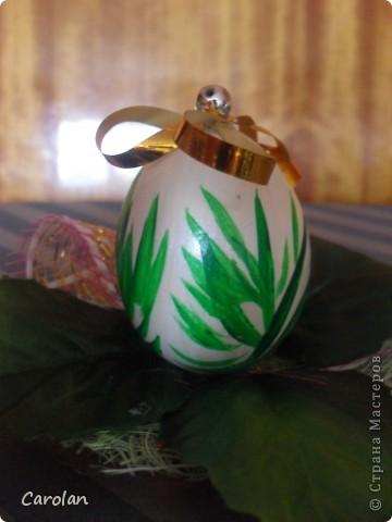 Пасхальное яйцо. Расписано акриловыми красками фото 7