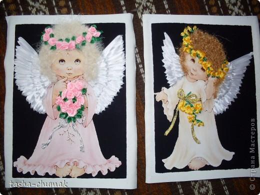 Картинки ангелочки своими руками из