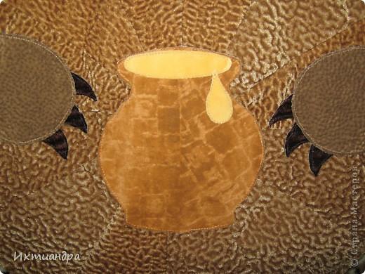 Косолапый мишка. Коврик или панно? )) фото 4