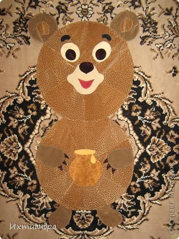 Косолапый мишка. Коврик или панно? )) фото 2