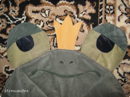 Косолапый мишка. Коврик или панно? )) фото 8
