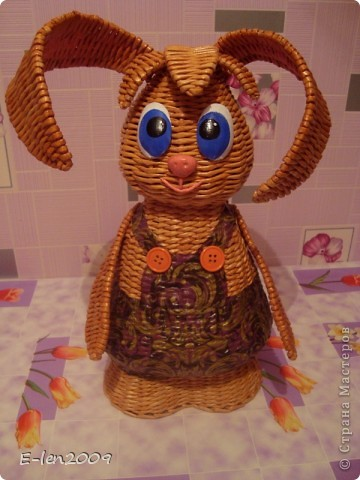 Ура!!! Я успела к Пасхе закончить своего пасхального кролика!!!Хотела выложить завтра,но завтра у  меня день рождения:))))И точно будет некогда. фото 2