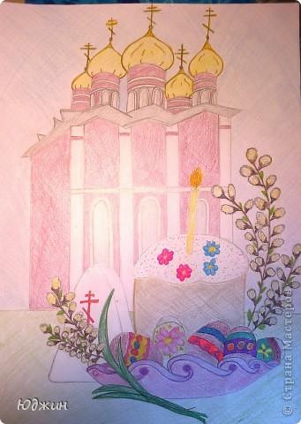 пасхальные рисунки карандашом: