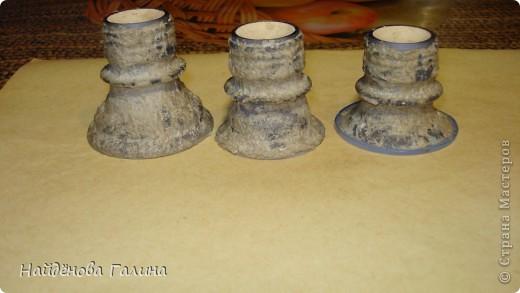 Мастер-класс Пасха Лепка Подставки под пасхальные яйца своими руками Салфетки фото 11