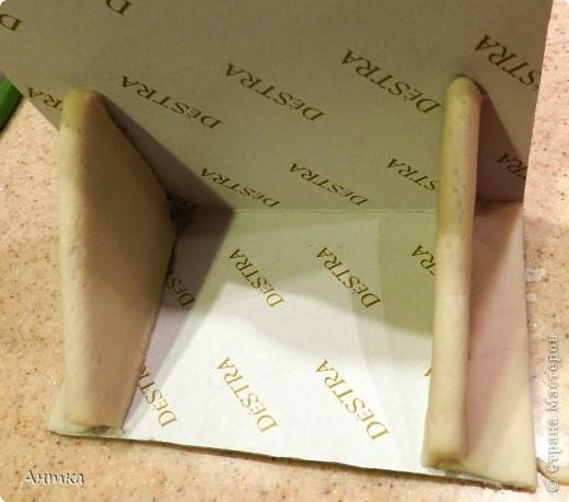 Картина панно рисунок Мастер-класс 23 февраля 8 марта День рождения День семьи Свадьба Выпиливание Декупаж Лепка Моделирование конструирование Вырезание МК Вечный календарь Картон Клей Коробки Тесто соленое фото 9