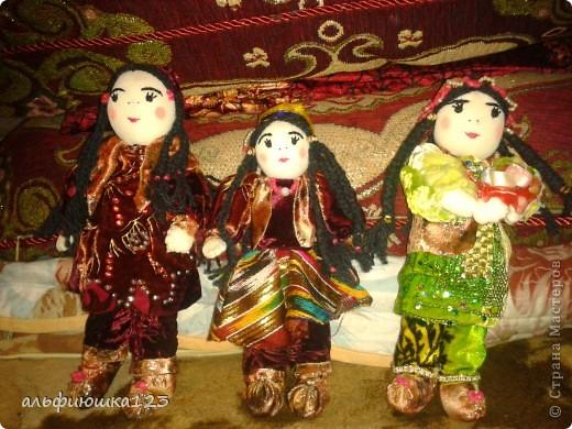 Куклы-узбечки фото 2