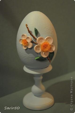 Декор предметов Пасха Квиллинг Яйцо  Бумага фото 1
