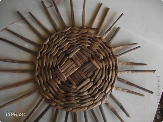 Мастер-класс Поделка изделие Плетение Моя мельница Мастер-класс Бумага газетная фото 5