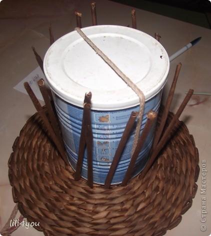 Мастер-класс Поделка изделие Плетение Моя мельница Мастер-класс Бумага газетная фото 9