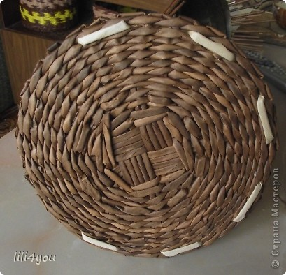 Мастер-класс Поделка изделие Плетение Моя мельница Мастер-класс Бумага газетная фото 28