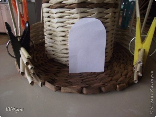 Мастер-класс Поделка изделие Плетение Моя мельница Мастер-класс Бумага газетная фото 30