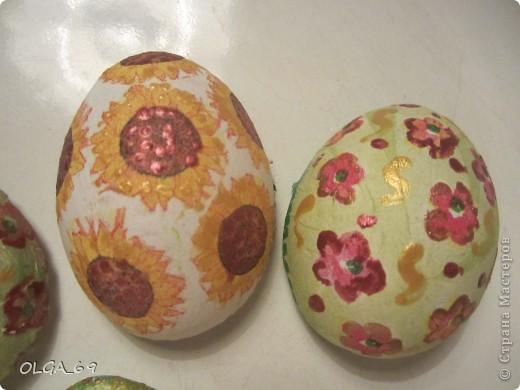 Магниты- сувениры из заготовок гипсовых. На оформление яиц не хватило времени. фото 2