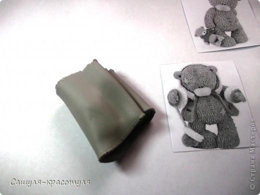 Делаем мишку Тедди из полимерной глины фото 3
