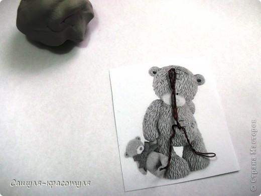 Делаем мишку Тедди из полимерной глины фото 4