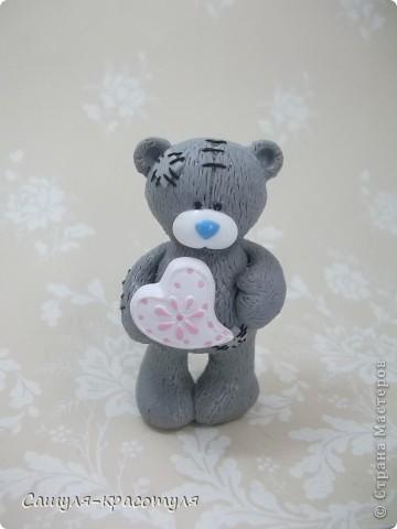Делаем мишку Тедди из полимерной глины фото 20