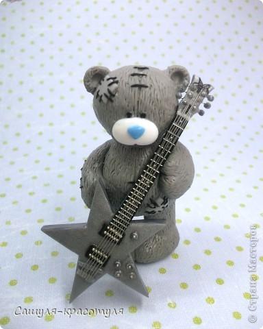 Делаем мишку Тедди из полимерной глины фото 1
