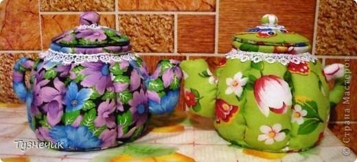 Вот нашила чайничков еще, вообще-то их было 3, но один уже подарен фото 1