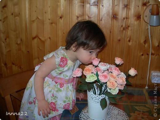 Букет собрался как раз к дню рождения доченьки. фото 3