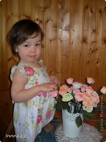 Букет собрался как раз к дню рождения доченьки. фото 4