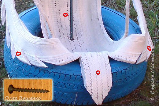 Царевна-лебедь Материал