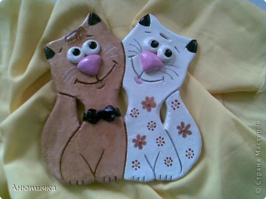 Влюбленные котики фото 2