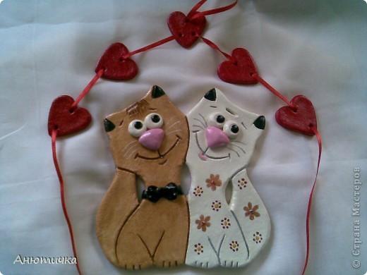Влюбленные котики фото 3
