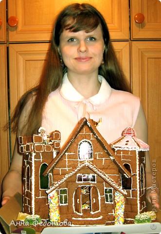 Моя подруга https://stranamasterov.ru/user/168074 подарила мне настоящий пряничный замок! фото 2