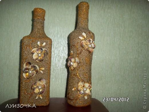 Декор бутылки своими руками с фото