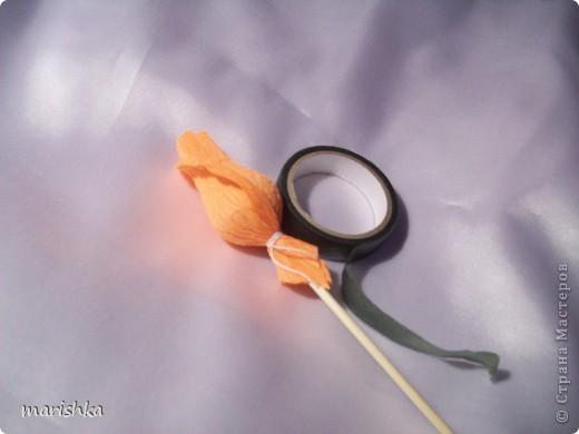 Всем доброго времени суток! Знаю,что есть очень много мк по бутонам роз.Может быть ничего нового я и не расскажу,но может быть кому-нибудь понравится и понадобится.Просто покажу как мне удобно делать бутоны этого прекрасного цветка. фото 12