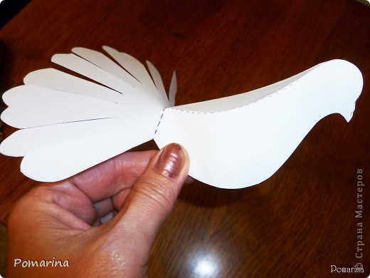 Птицы из бумаги своими руками с фото