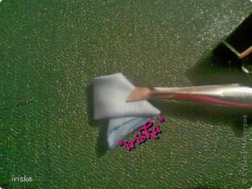Master Class Decoración Tsumami Kanzashi MC Enfriar rizado cintas pétalo paño Foto 8