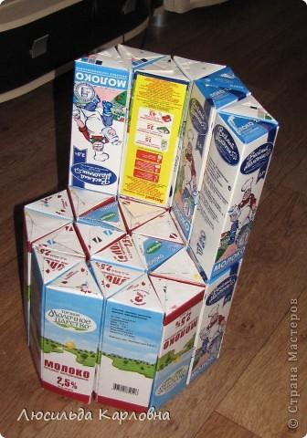 Своими руками из пакетов из под молока