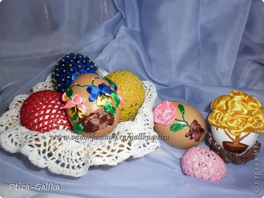 Решила к Пасхе украсить яички... Вдохновителем на подвиги послужил МК Мамы Марины http://stranamasterov.ru/node/168283?c=favorite Спасибо за МК!!! фото 1