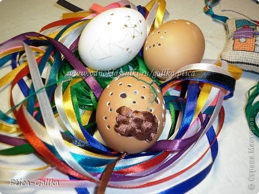 Решила к Пасхе украсить яички... Вдохновителем на подвиги послужил МК Мамы Марины http://stranamasterov.ru/node/168283?c=favorite Спасибо за МК!!! фото 4