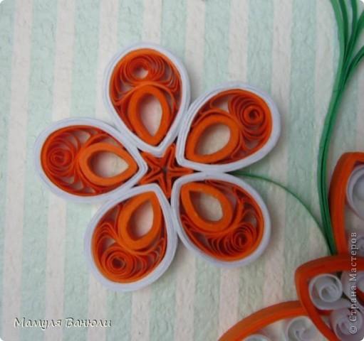Всем добрый день! Давно я уже обещала сделать эту картинку в оранжевом цвете своим друзьям для их новой оранжевой кухни. Но в последнее время увлеклась холодным фарфором и все никак не могла собрать ее. А тут такой замечательный повод- день рождения! фото 4