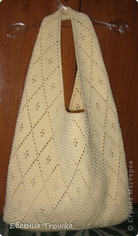 Гардероб Вязание крючком Сумка