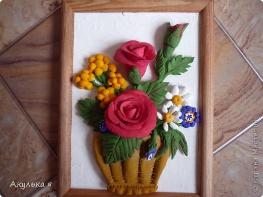 Соленое тесто поделки цветы 183